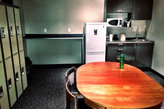 Rep1 Fitness personal trainers lounge in Kitsilano