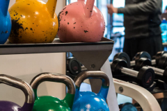 Rep1 Fitness kettlebells and weights for personal training in Vancouver