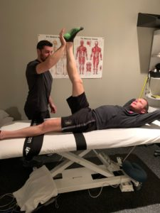 Hamstring assisted stretching
